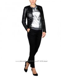 Стильная кожаная куртка , пиджак, жакет Италия р 44