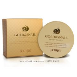 Патчи PETITFEE Gold & Snail Hydrogel Eye Patch 60 шт