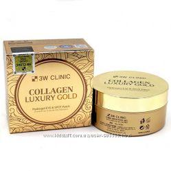 Патчи 3W Clinic Collagen Luxury Gold Hydrogel Eye & Spot patch