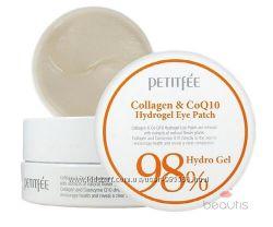 Патчи Petitfee & Koelf Collagen & Co Q10 Hydrogel Eye Patch