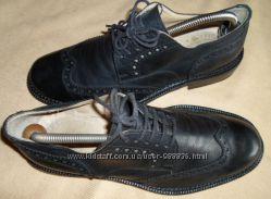 туфли броги натуральная кожа 45-46 размер