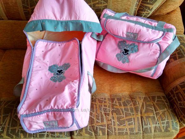 Супер красивый комплект сумка-переноска и сумка