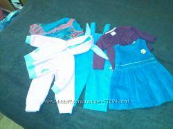 Продам набор одежды на девочку 74см
