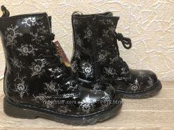 Хит продаж. Моднейшие демисезонные ботинки 34 размер