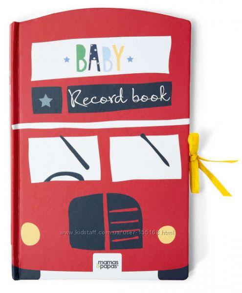 MAMAS&PAPAS, оригинал, Англия. Книга Вашего ребенка. Baby record book