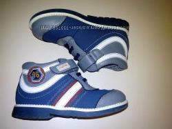 Кожаные демисезонные ботинки для мальчика Lapsi