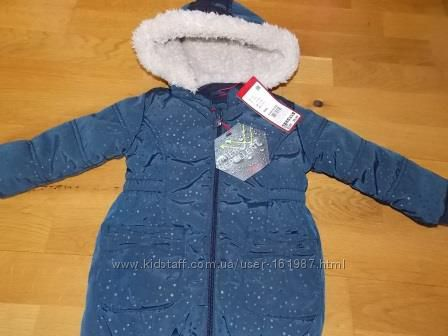 Фирменное Пальто-Куртка S. OLIVER р-р 80. Оригинал