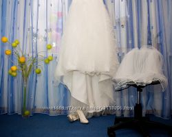 Счастливое свадебное платье. Цена снижена