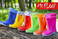 Польские резиновые сапоги Renbut Muflon в наличии. 6цветов. 21-36рр