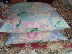 2 перьевые подушки в отличном состоянии