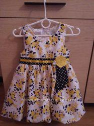 Красивое нарядное платье размер 3Т