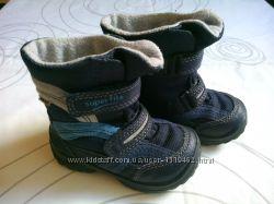 зимние термо ботинки super fit  р. 21 стелька 14 см