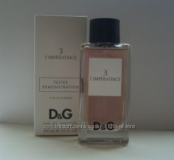 D&G Anthology LImperatrice 3 edt 100 ml tester оригинал