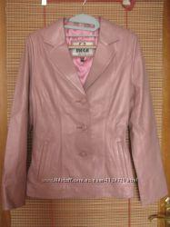 жіноча куртка-піджак. натуральна шкіра.