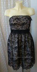 Платье женское нарядное вечернее кружево бренд Monsoon р. 48 3627