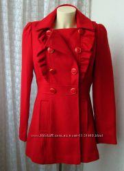 Пальто женское красивое модное демисезонное Miss Selfridge р. 46 4698