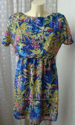 Платье женское легкое летнее мини бренд Atmosphere р. 42 5341
