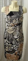 Платье женское летнее модное хлопок миди бренд Bonprix р. 44 6323