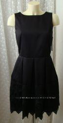 Платье модное черное кружево Closet р. 44 6651