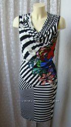 Платье модное яркое миди Desigual р. 42 6796