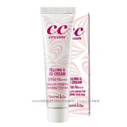 Secret Key Telling U CC Cream SPF50 PA