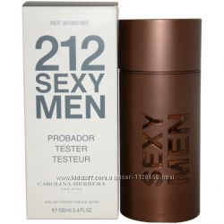Carolina Herrera 212 Sexy Men tester 100 ml