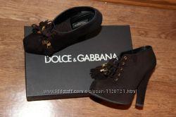 Dolce and Gabbana ботильоны первая линия