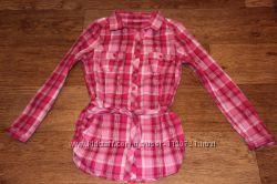 Модные рубашечки на рост 140