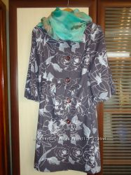 Новое стильное женское пальто из кашемира. 46размер