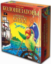 Колонизаторы Junior, настольная игра, бесплатно по Киеву, скидки