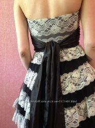 Нарядное, выпускное кружевное платье