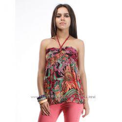 футболки, топы, маечки женские Bershka распродажа