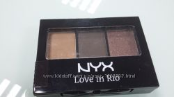 Набор теней NYX love in rio  shadow palette