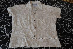 Отличная летняя, легкая рубашечка COLUMBIA Практически новая, шикарная