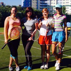 Уроки большого тенниса в Киеве