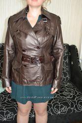 Кожанная куртка в идеальном состоянии