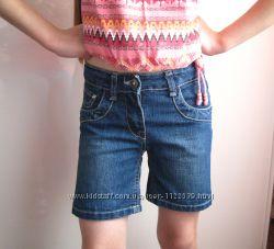 Шорти джинсові р. 128