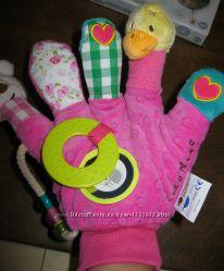 Развивающая игрушка для малышей, ручной кукольный театр