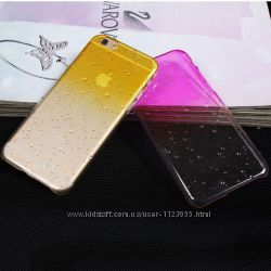 Чехол с градиентом 3D-raindrops для Iphone 6, 6S