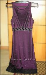 Очень красивое нарядное платье и болеро