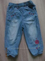 джинсы на M&Co 12-18 месяцев