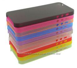 чехол iPhone 4 4s  5 5s 5c se 6 6s  6 plus 7 7plus  разные цвета