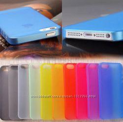 чехол iPhone 4 4s  5 5s se 6 6s  6 plus 7 7s 7plus  разные цвета