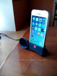подставка айфон  iphone 4 4s 5 5s se силикон