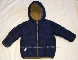 Куртка еврозима Next 12-18 мес 86 см большемерит подкладка флис