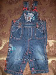 фирменный джинсовый комбинезон