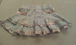 Микровельветовая юбка