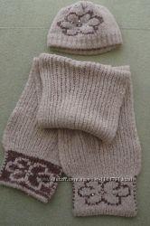Шапка и шарф для холодной зимы