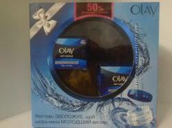 Акция Набор Olay Anti-Wrinkle Instant Hydration cr50ml  cr50ml