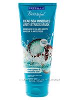 Маска для лица анти-стресс Минералы Мертвого моря , 175 мл Freeman